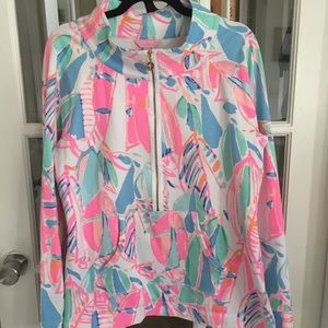 Lilly Pulitzer Popover Out to Sea XL